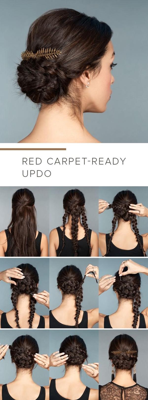 45 gorgeous bun hairstyles for office women