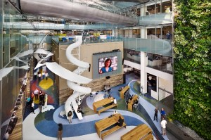 Inspiration: Offices With Slides (yes, slides)  Office