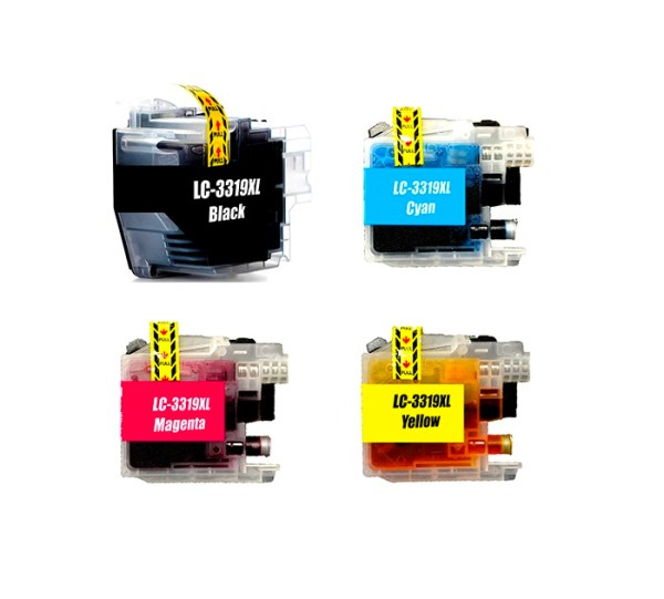 Compatible Brother LC-3319XL Four Colour Value Pack