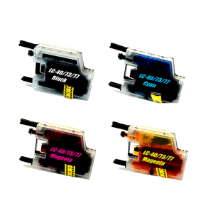 Compatible Brother LC-73/77/40 Ink Cartridges Value Pack