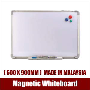 Aluminium Frame Magnetic Whiteboard (600x900mm) Made In Malaysia