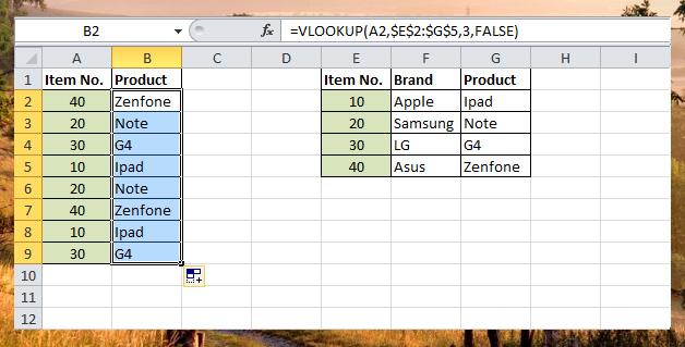Vlookup function - lookup functions