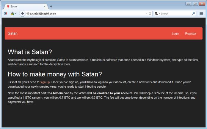 Satan Ransomware