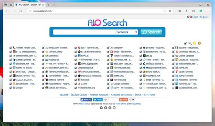 aio torrent search engine - Top 12 Best Torrent Search Engine Websites in 2020