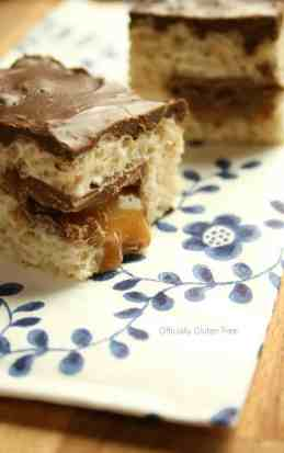 Rice Crispy Caramilk Bars