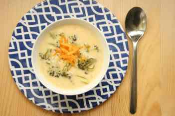 BroccoliCheddar Soup Gluten Free