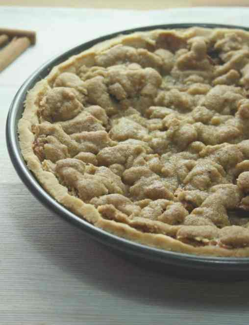 Cookie Crumble Apple Pie