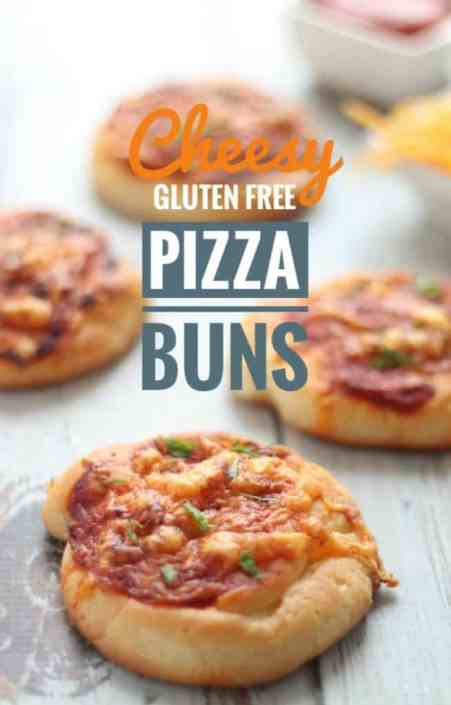 Cheesy Gluten Free Pizza Buns