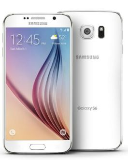 Samsung Galaxy S6 32GB White Unlocked Grade A