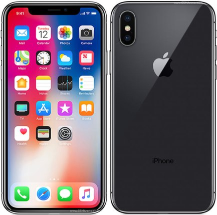 Apple iPhone X 64GB Silver 4G Sim Free Grade A
