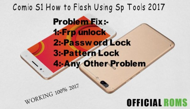 Download Comio S1 Stock Firmware (flash file)