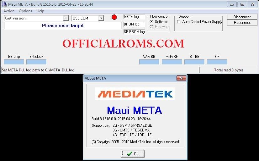 Maui Meta ver 9 1604 02 00 Imei Repair Tool Free Download (MTK)