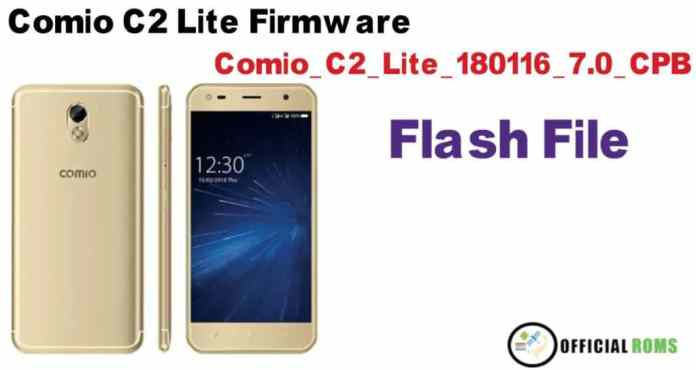 Download Comio C2 Lite Stock Firmware (flash file)