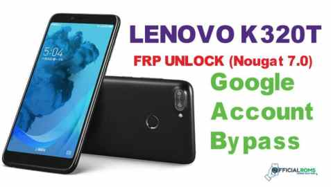 Bypass FRP Lock On Lenovo K320t Using Android Fastboot Reset