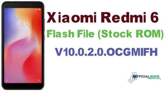 Xiaomi Mi 6 Stock Firmware ROM (Flash File) Tested File