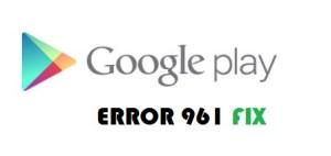 Error 961