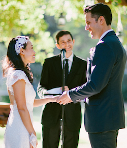Officiant Eric Exchange Of Rings