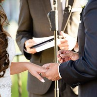 Hummingbird Nest Wedding Ceremony: Angie + Jason