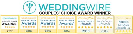 WeddingWire Couples' Choice Awards Winner