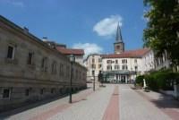 Cure thermale Bains-les-Bains - Le centre ville de la station thermale