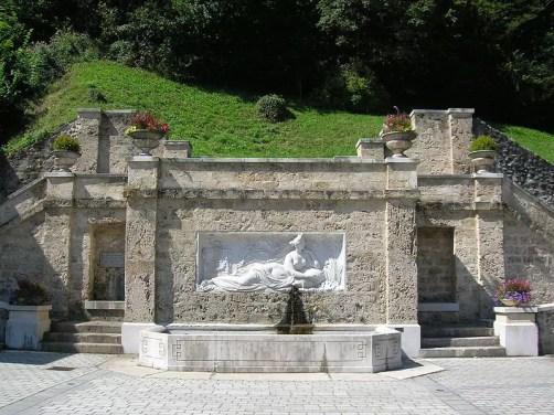 Fontaine d'Uriage les Bains