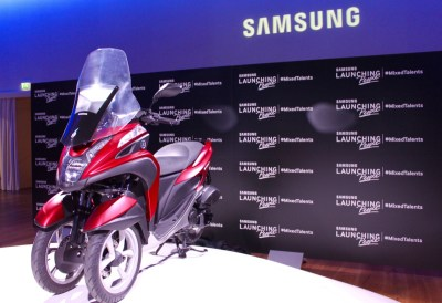 Samsung Smart Windshield YamahaTrinity