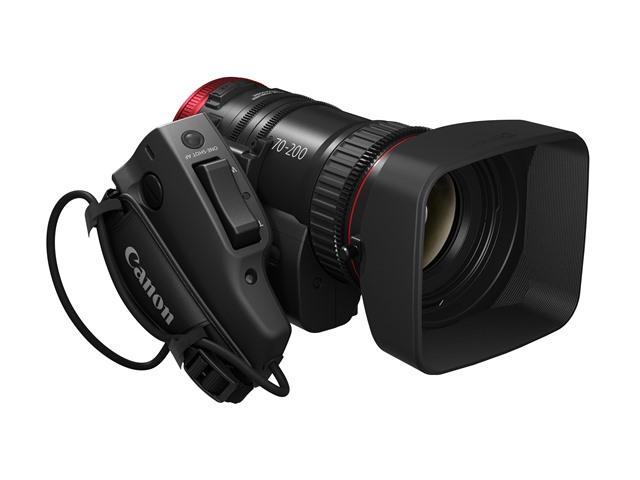 Precisione e qualità per il nuovo obiettivo cine-servo di Canon
