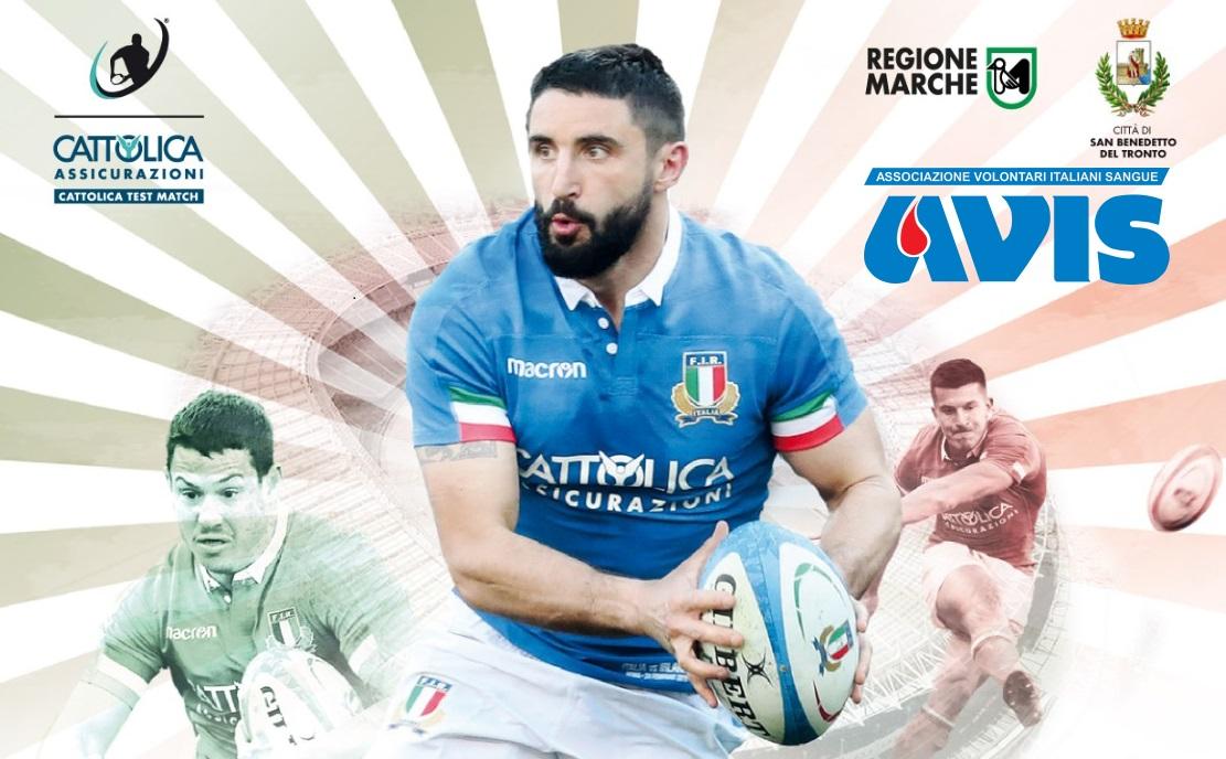 Rugby: tutto pronto per l'atteso test degli azzurri al Riviera della Palme | Offida.info