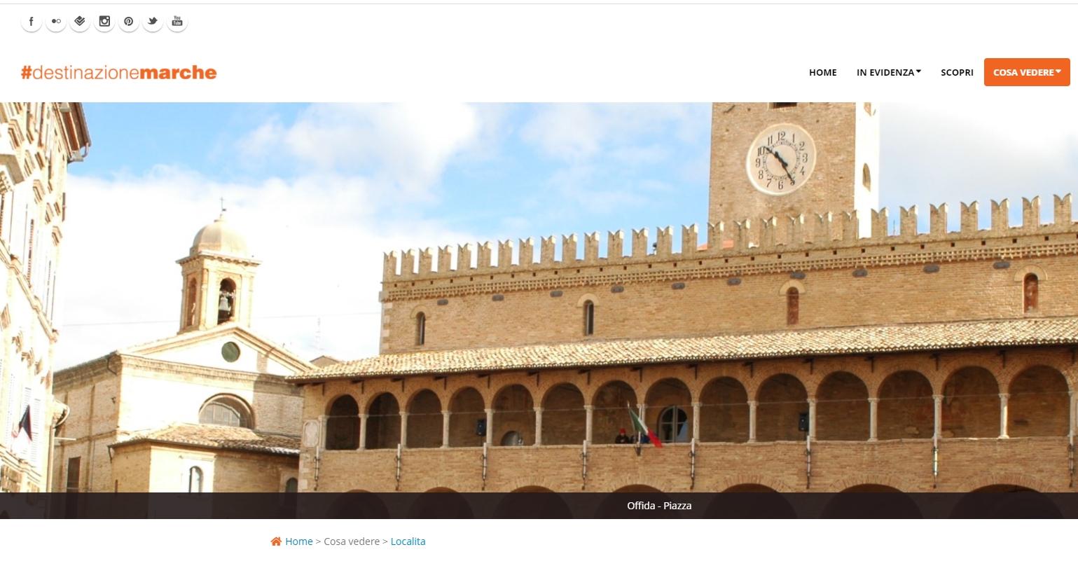 Marche, un nuovo sito per la promozione turistica   Offida info