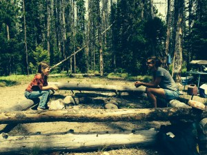 4th of July camping trip at Stanley Lake, Idaho.