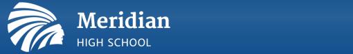 Meridian High School Logo