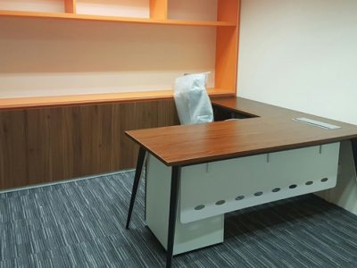 Obllique Pte Ltd - BA Series L-Shaped Manager Desk
