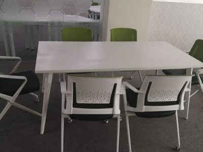 United Carpentry - BA Conference Table; Owen Office Chair