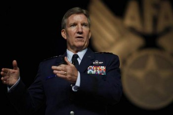 "General Herbert ""Hawk"" Carlisle, Commander, US Pacific Air Forces (Photo Credit: Mike Morones of the Army Times)"