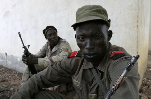 Séléka rebels in northern Central African Republic (Photo: hdptcar).
