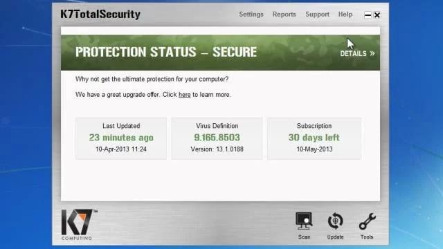 k7 Antivirus Offline Installer