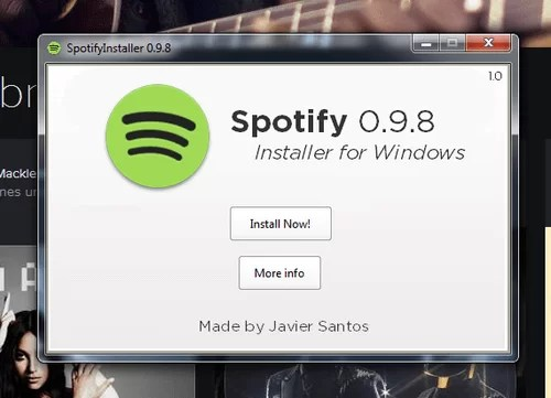 Download Spotify Offline Installer