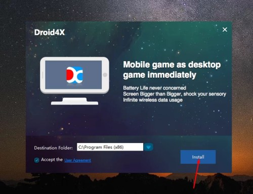 Download Droid4X Offline Installer