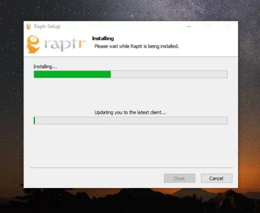Download Raptr Offline Installer