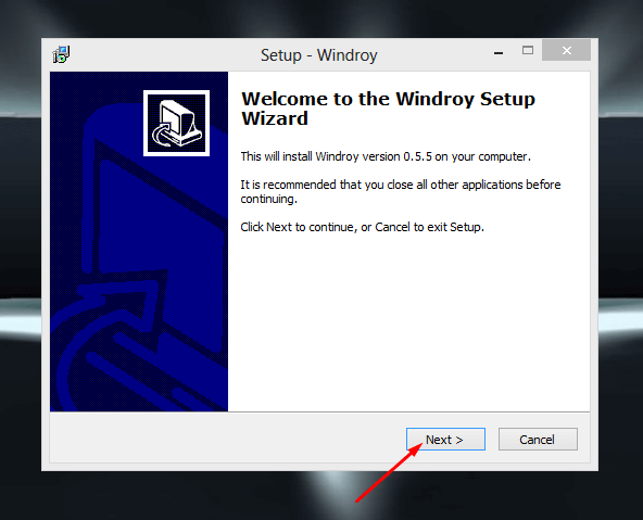 Windroy Offline Installer
