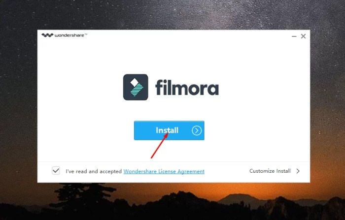 Download Wondershare Flimora Offline Installer