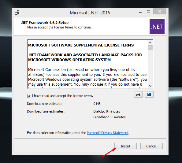 Download .NET Framework Offline Installer