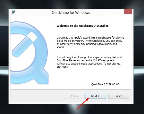quicktime download windows 7
