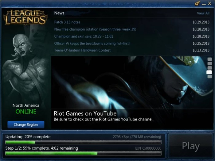 Download League of Legends Offline Installer