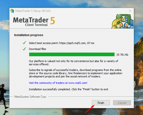 MetaTrader 4 Offline Installer