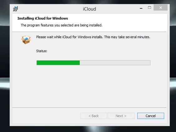 iCloud for Windows PC