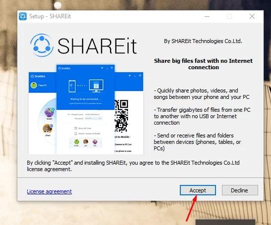 Download SHAREit Offline Installer