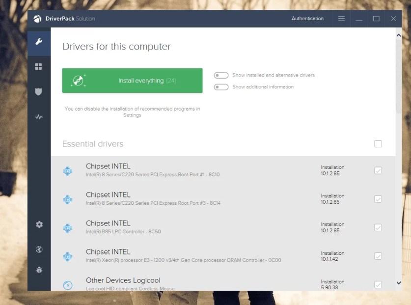 DownloadDriverPack Solution Offline Installer