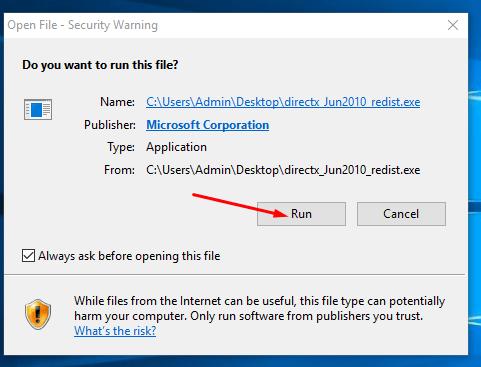 Download DirectX 12 Offline Installer