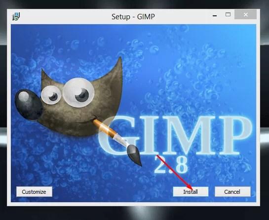 Download GIMP Offline Installer